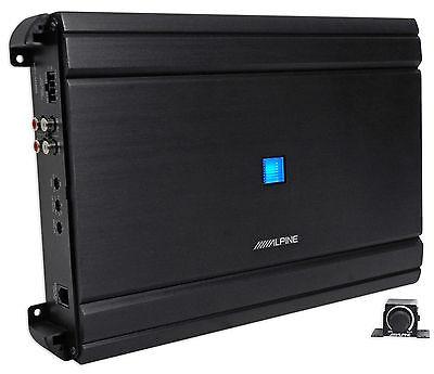 Alpine Mrv M1200 Mono 1200 Watt Rms 2 Ohm Car Audio Stereo Amplifier Amp Remote