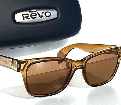 NEW! REVO TRYSTAN Rootbeer POLARIZED Terra Brown lens Sunglass RE 5012 02 BR
