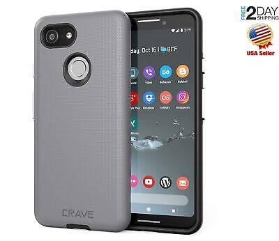 Google Pixel 3 Case Crave Dual Guard Protection Series Easy