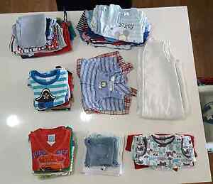 54 items of Boys size 0 summer clothes Yamanto Ipswich City Preview