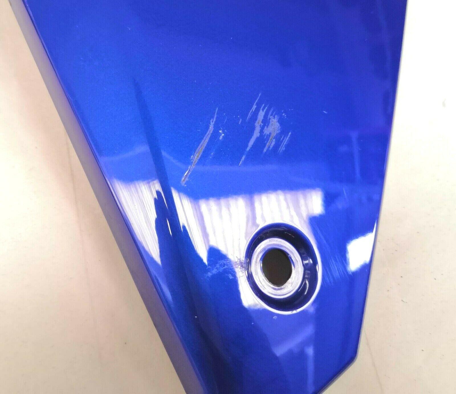 Carénage gauche original yamaha mt-07 tracer 700 2016 bleu surélevé
