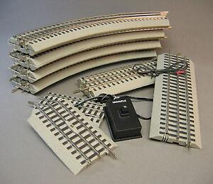 lionel o gauge fastrack oval with uncoupler train fast. Black Bedroom Furniture Sets. Home Design Ideas
