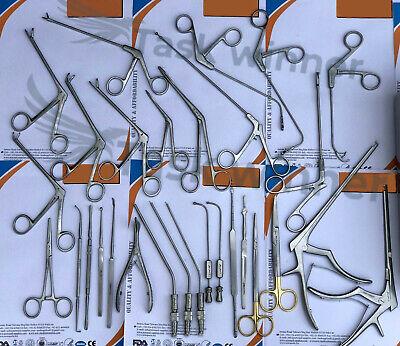 Fess Instruments Set W Box Fess Set Sinus Surgery Ent Instruments German Steel