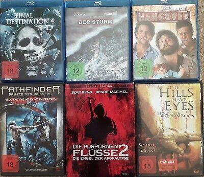 DVD/Bluray Sammlung 14St. Horror Final Destination4 , der Sturm , Reborn ab 18
