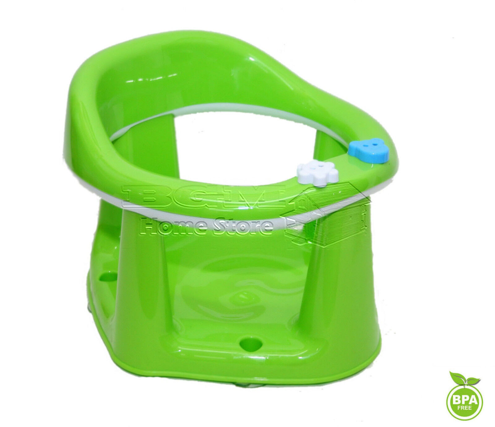 Green Dunya Plastik Green Baby Toddler Safety Potty Training Adaptor Toilet Seat With Handles