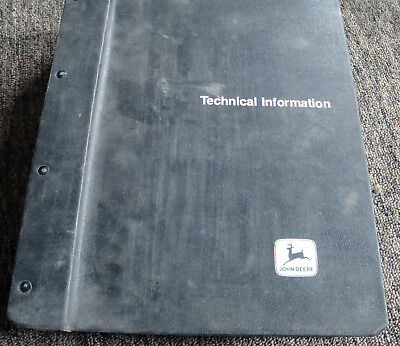 John Deere 710b 710c Backhoe Loader Parts Catalog Book List Manual Pc1845 Jd