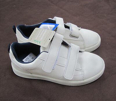 Sneaker, Walk kids Größe 32 Sportschuhe für Kinder Weiß mit Klettverschluss NEU
