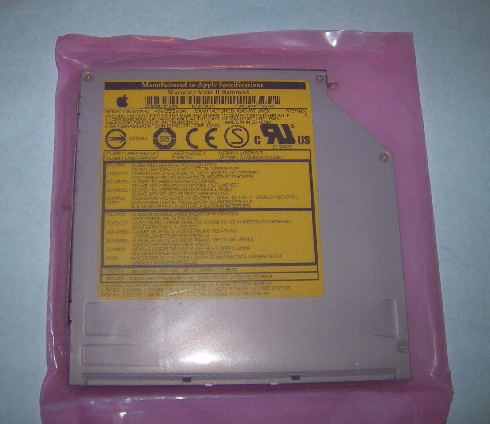 Sony Panasonic Cw-8124-c Apple Mac Dvd Burner Combo Drive...