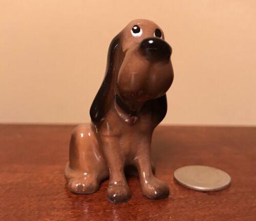 Hagen-Renaker Mini #5013 BLOODHOUND - Miniature Ceramic Dog Figurine