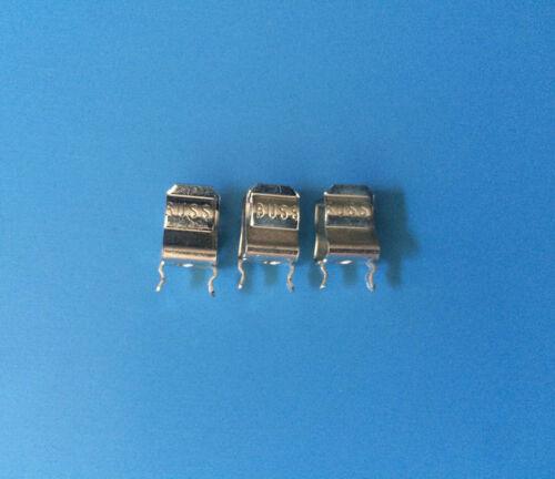 3x BK/1A4534-01 BUSSMANN Fuse Clip 1 Circuit Cartridge PCB 1A4534-01 3ps