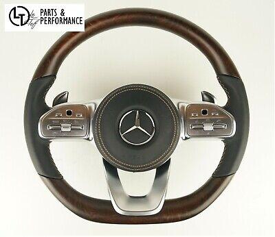 LE TEF® Esche Offenporig Holz Lenkrad für Mercedes-Benz AMG W213 W167 W292 W238