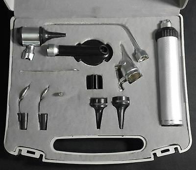 Otoscope And Ophthalmoscope Medical Diagnosis Ent Set