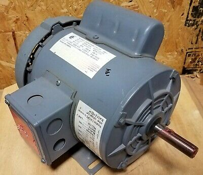 New 12 Hp Single Phase Motor  Hdn56mrc17f120  58 Diameter Shaft