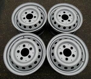 4 x Stahlfelgen Mercedes Sprinter/ VW LT 6Jx15H2 5x130 ET75 (9034010802) #A-8818
