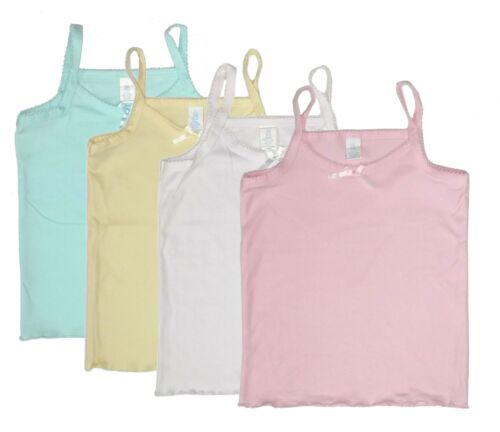 Camisole 4-Pack 12 Months Baby Girls Tank Top Undershirt Spaghetti Strap New