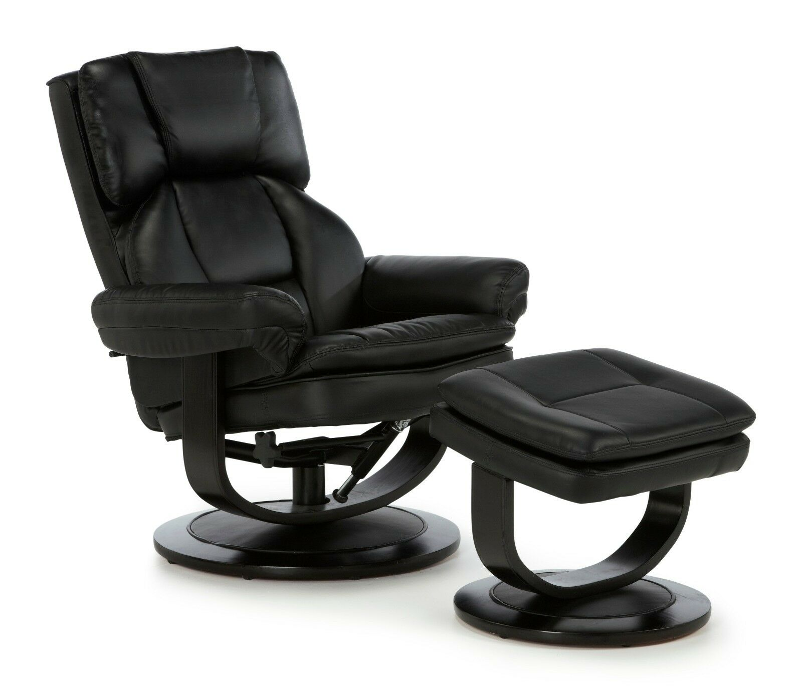 Upton Luxury Swivel Recliner Chair Reclining Armchair FREE ...