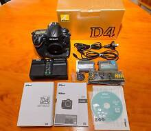 Nikon D4 Body 16MP DSLR Camera with only 9k Activation's Kuraby Brisbane South West Preview