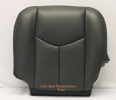 2003 2004 2005 2006 Chevrolet Avalanche Driver Bottom Seat Cover Dark Gray/692