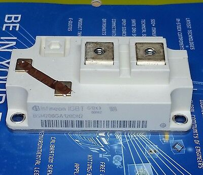 Bsm200ga120dn2 Eupec Infineon Igbt 1200v 300a Transistor Tested Bsm200ga120d