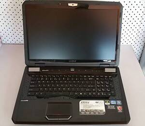 "MSI GT70 0ND 17"" Gaming Laptop for Parts or Repair Murrurundi Upper Hunter Preview"