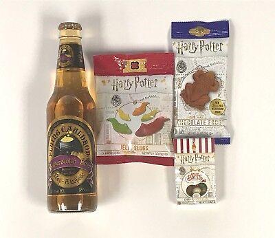 Harry Potter Candy 16pc Party Gift Set Butterbeer Bertie Botts Slugs Choc Frog