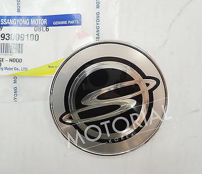SSANGYONG REXTON 2006 2007 2008 2009 2010 2011 2012 OEM Rear AWD POWER Emblem