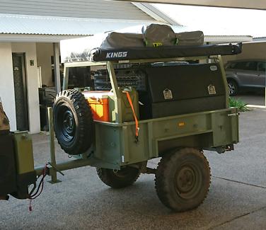 Custom off road camper trailer