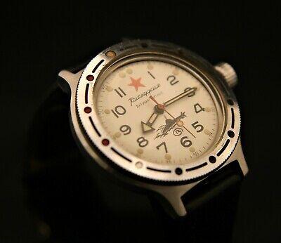 Rare vintage Soviet USSR military Vostok Amphibia all steel wristwatch serviced