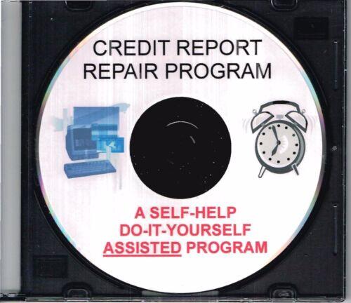 CREDIT REPORT REPAIR PROGRAM CD
