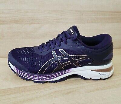 Womens ASICS GEL KAYANO 25 Running Shoes 1012A471-500 nimbus Night Shade cream