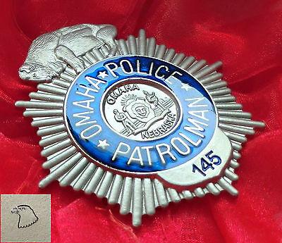 a/ Historisches Abzeichen - Nebraska Omaha Police