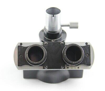 Nikon Black S Microscope Trinocular Head