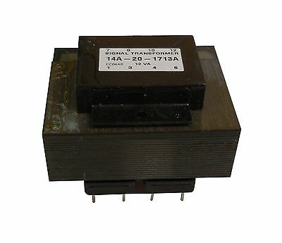 Control Transformer Pcb Mount 20va 480240vac Input X 240120vac Output