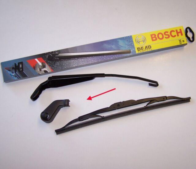 SCHEIBENWISCHER Bosch Heckwischer Arm HECK WISCHERARM VW GOLF3 VARIANT m. Kappe