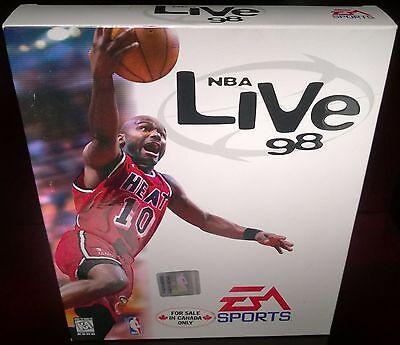 Usado, NBA Live 98, Basketball, EA Sports (PC, 1998) NISB comprar usado  Enviando para Brazil