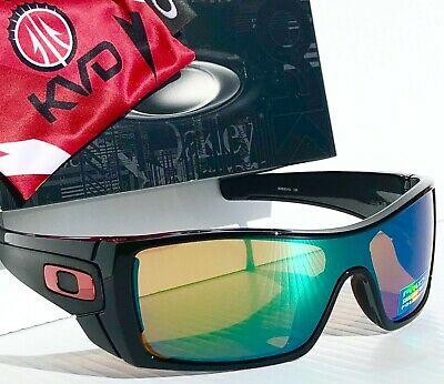 NEW* Oakley BATWOLF KVD Black w POLARIZED PRIZM Shallow Water Sunglass 9101-51