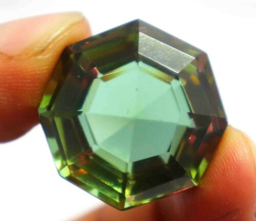 Certified 50.20 Ct Natural Russian Color Changing Alexandrite Gemstone AN153