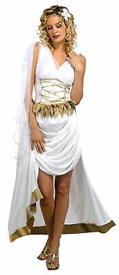 Disguise Venus Goddess Beauty Greek Toga Roman Women Costume Medium Sexy MINT