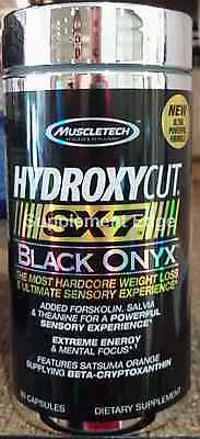 Muscletech Hydroxycut SX-7 Black Onyx 80ct New/Factory Sealed and Free Shipping
