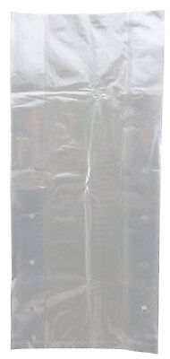 Plastic Bag-clear Ldpe Poly Vented Produce Bags 8x4x14 0.8 Mil 1000 Bagscs
