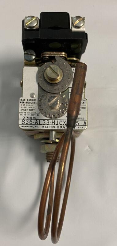 Allen-Bradley 836-AL33-HJCXS15 Pressure Control PRESSURE 600V AC MAX 5 AMP MAX