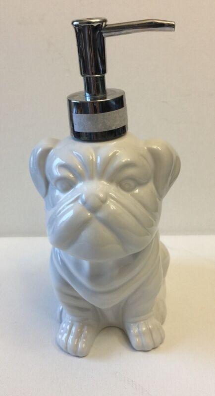 English Bulldog Soap Dispenser
