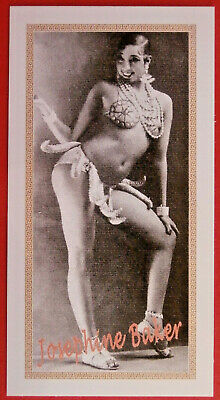 JOSEPHINE BAKER - Individual card #08 - Tribute Collectables