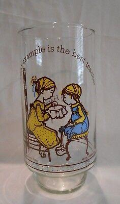 Holly Hobbie Happy Talk Coca-Cola Limited Edition Vintage Glass