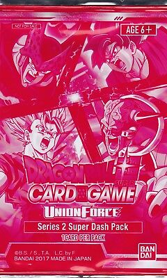 1 Dragon Ball Super Card Game Union Force Super Dash 2 Promo Pack Sealed
