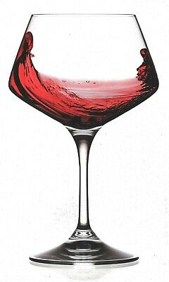 RCR Crystal Aria Large Red White Wine Wine Burgundy Glasses 500ml, Set of 4