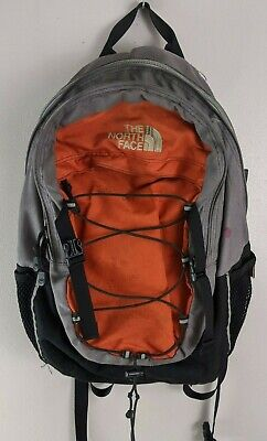 The North Face Borealis Day Backpack Orange & Gray