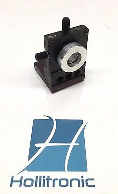 Newport Nrc Lp-05-xy Optical Table Lens Mount Positioner W Nrc Bp-4 Base