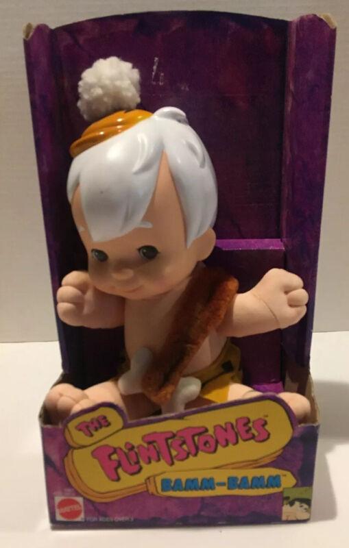 1993 The Flintstones Bamm-Bamm Doll Brand New In Original Packaging