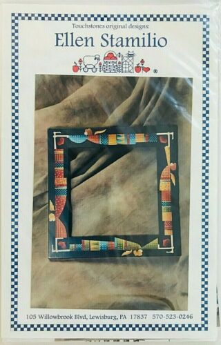 Ellen Stamilio Tole Painting Pattern Packet Four Angels On a Square Mirror New